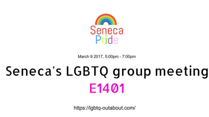Seneca Pride meeting