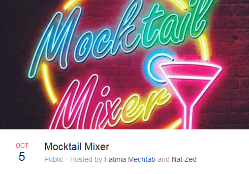 Mocktail mixer